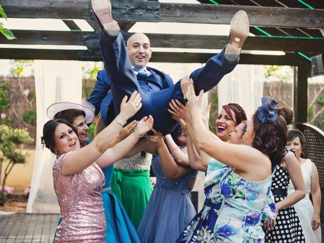 La boda de Cristian y Sonia en Rioja, Almería 77