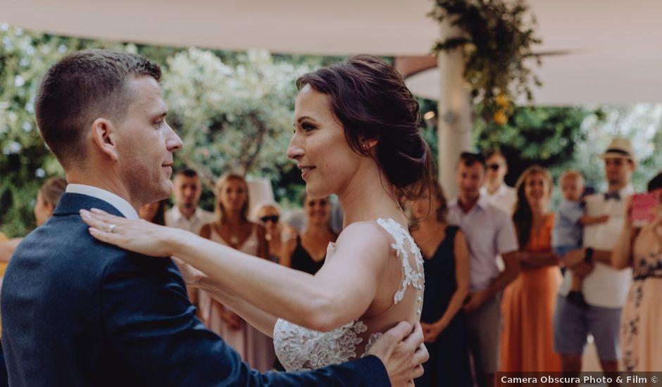 La boda de Priit y Nele en La Bisbal d'Empordà, Girona