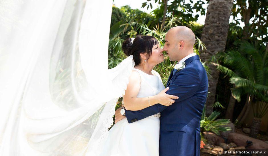 La boda de Cristian y Sonia en Rioja, Almería