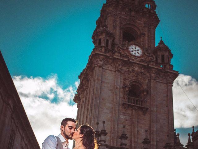 La boda de Rober y Isa en Pazo (Caion), A Coruña 52
