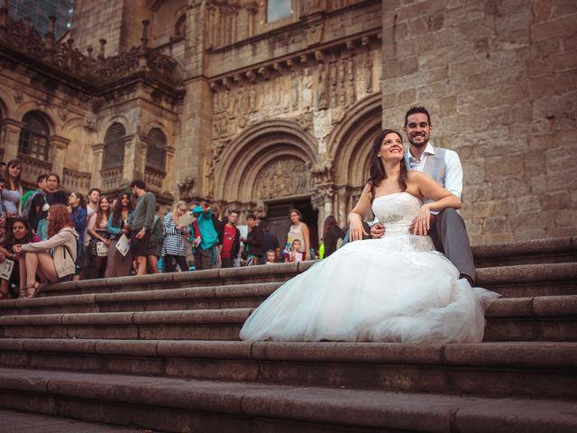 La boda de Rober y Isa en Pazo (Caion), A Coruña 54