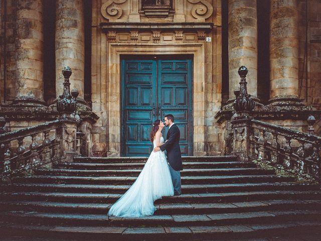 La boda de Rober y Isa en Pazo (Caion), A Coruña 1