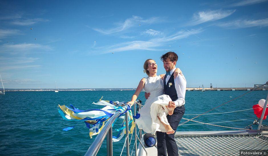 La boda de Alena y Jesus en Palma De Mallorca, Islas Baleares