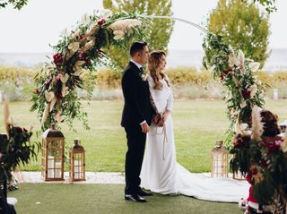 La boda de Cristina y Junior
