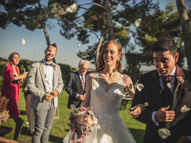 La boda de Jesus y Maria en Aranjuez, Madrid 2