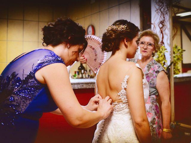 La boda de Fran y Almudena en Zarza De Granadilla, Cáceres 15