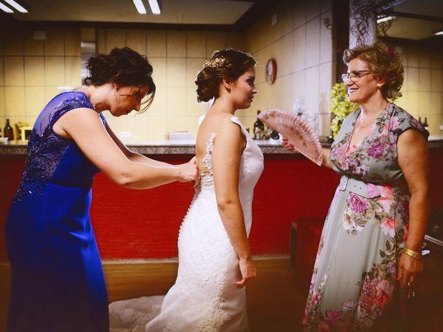 La boda de Fran y Almudena en Zarza De Granadilla, Cáceres 16