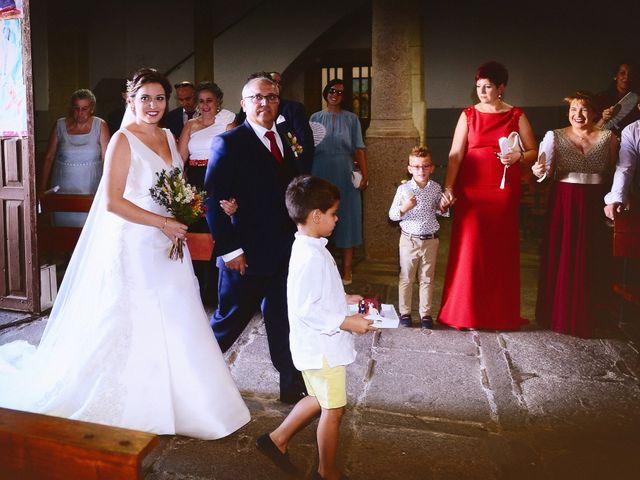 La boda de Fran y Almudena en Zarza De Granadilla, Cáceres 31