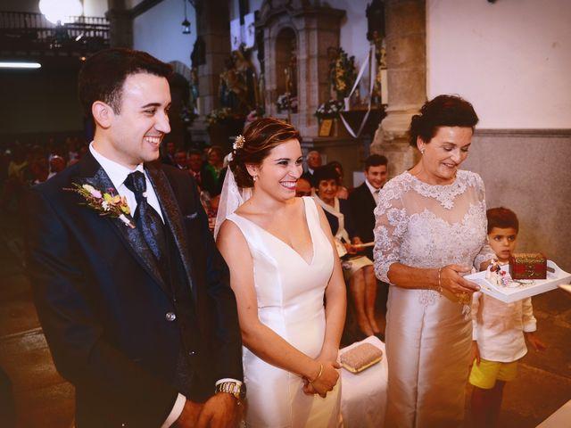 La boda de Fran y Almudena en Zarza De Granadilla, Cáceres 34