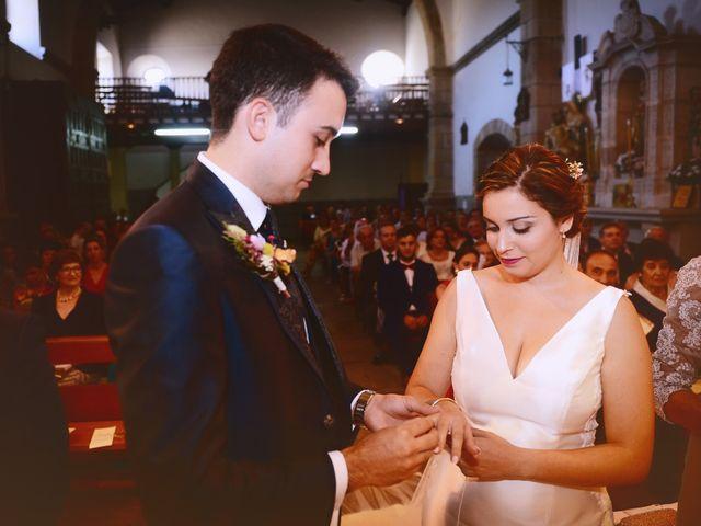 La boda de Fran y Almudena en Zarza De Granadilla, Cáceres 35