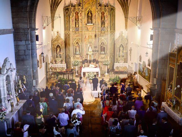 La boda de Fran y Almudena en Zarza De Granadilla, Cáceres 39