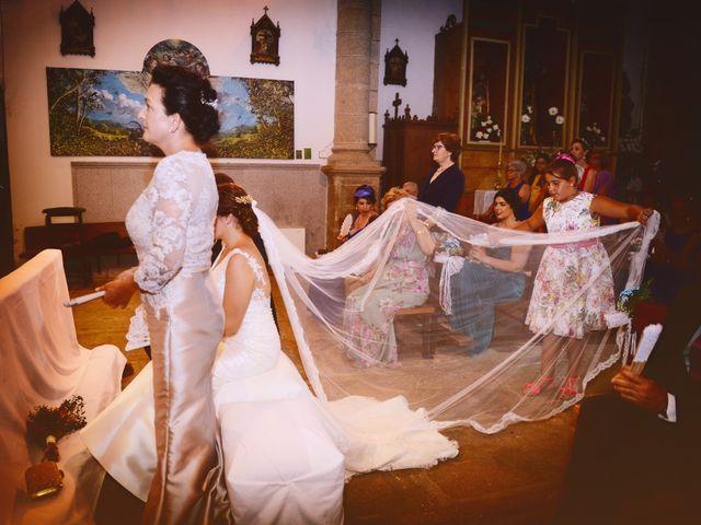La boda de Fran y Almudena en Zarza De Granadilla, Cáceres 41