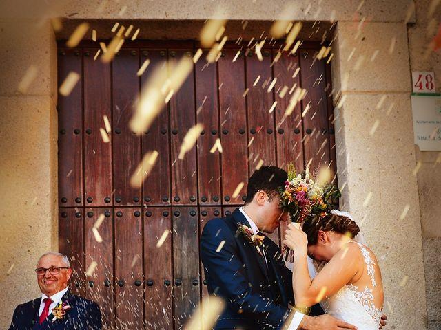 La boda de Fran y Almudena en Zarza De Granadilla, Cáceres 42