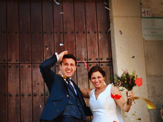 La boda de Fran y Almudena en Zarza De Granadilla, Cáceres 44