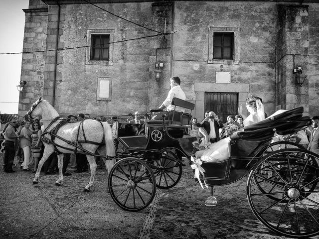 La boda de Fran y Almudena en Zarza De Granadilla, Cáceres 46