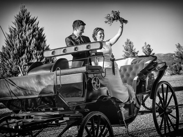 La boda de Fran y Almudena en Zarza De Granadilla, Cáceres 47