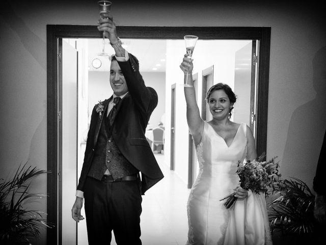 La boda de Fran y Almudena en Zarza De Granadilla, Cáceres 52
