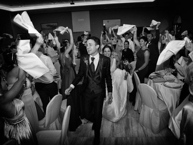 La boda de Fran y Almudena en Zarza De Granadilla, Cáceres 54
