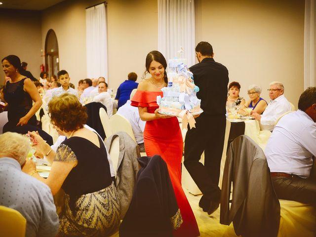 La boda de Fran y Almudena en Zarza De Granadilla, Cáceres 57