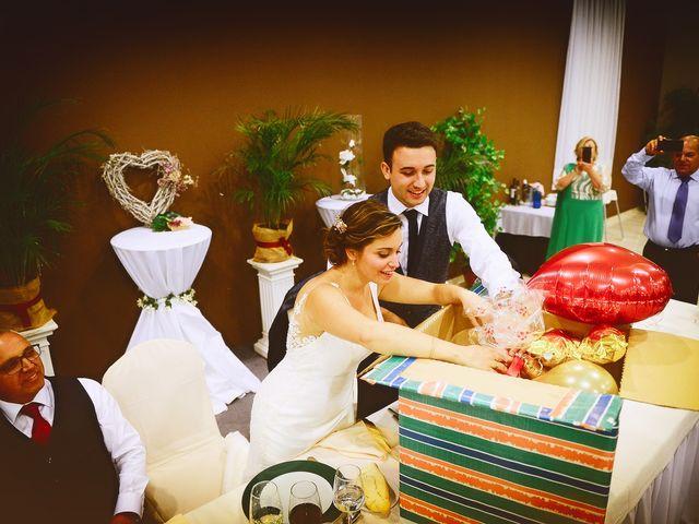 La boda de Fran y Almudena en Zarza De Granadilla, Cáceres 59