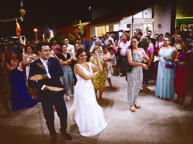 La boda de Fran y Almudena en Zarza De Granadilla, Cáceres 63