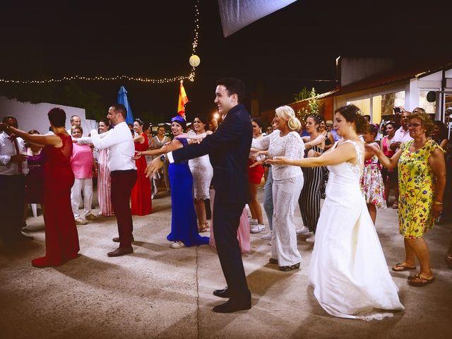 La boda de Fran y Almudena en Zarza De Granadilla, Cáceres 64