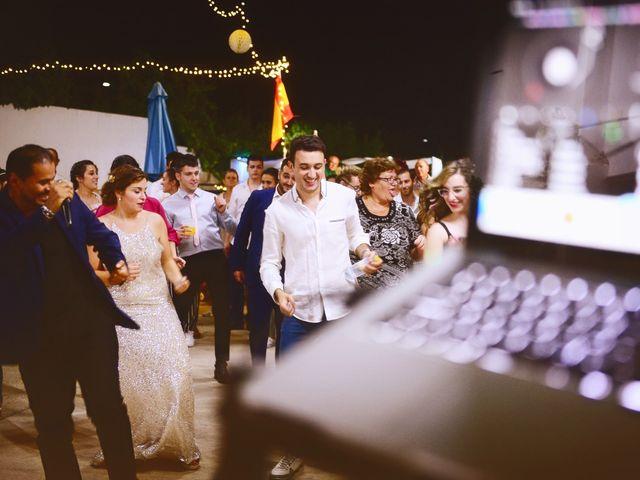 La boda de Fran y Almudena en Zarza De Granadilla, Cáceres 65