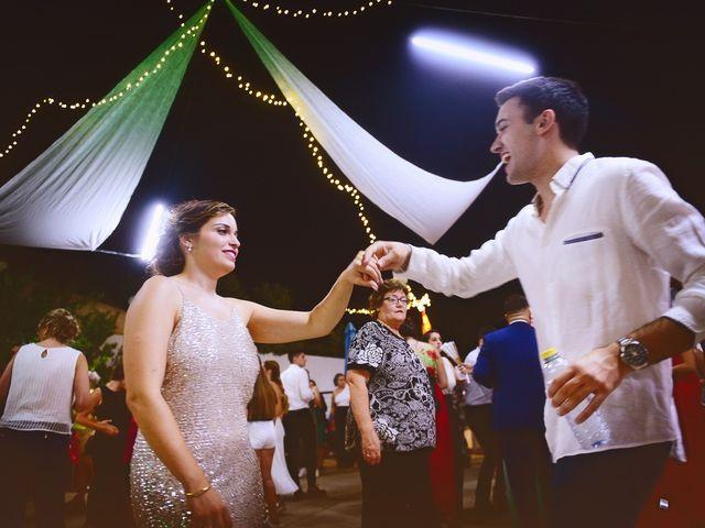 La boda de Fran y Almudena en Zarza De Granadilla, Cáceres 67