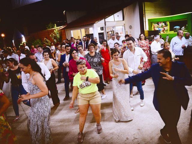 La boda de Fran y Almudena en Zarza De Granadilla, Cáceres 68