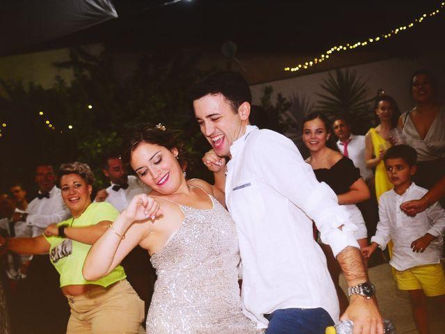 La boda de Fran y Almudena en Zarza De Granadilla, Cáceres 70