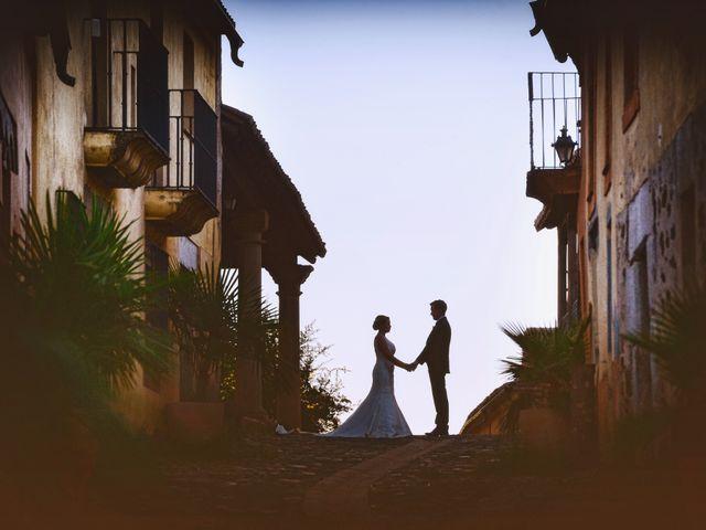 La boda de Fran y Almudena en Zarza De Granadilla, Cáceres 76