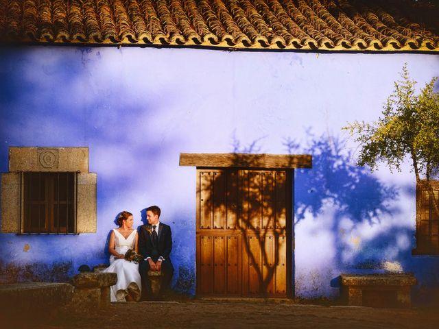 La boda de Fran y Almudena en Zarza De Granadilla, Cáceres 78