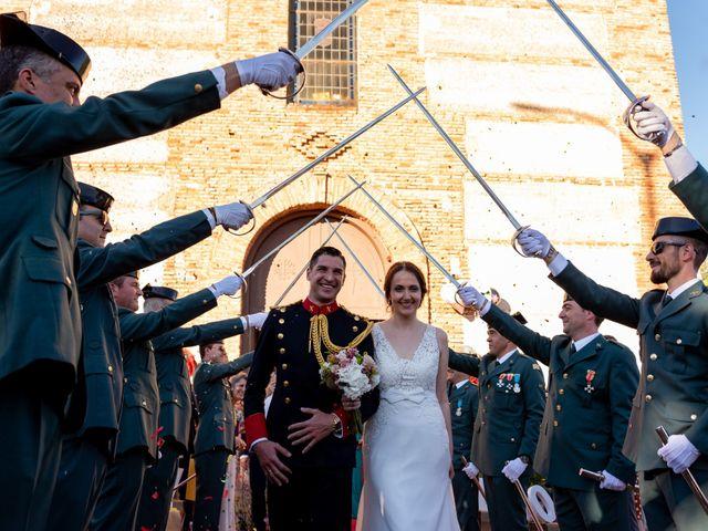 La boda de David y María en Bolaños De Calatrava, Ciudad Real 23