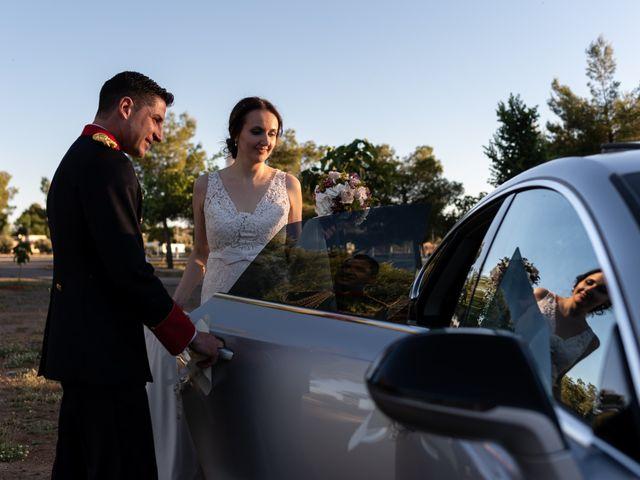La boda de David y María en Bolaños De Calatrava, Ciudad Real 25