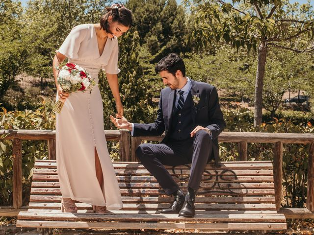 La boda de Alberto y Cecilia en Majadahonda, Madrid 16