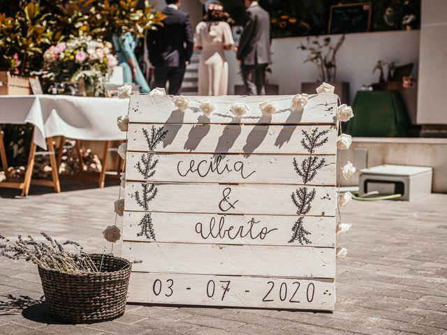 La boda de Alberto y Cecilia en Majadahonda, Madrid 23