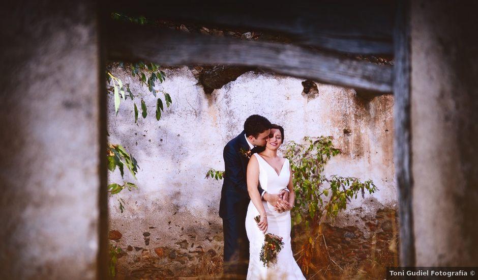 La boda de Fran y Almudena en Zarza De Granadilla, Cáceres