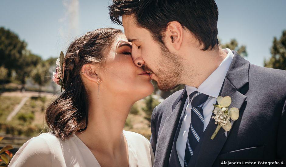 La boda de Alberto y Cecilia en Majadahonda, Madrid