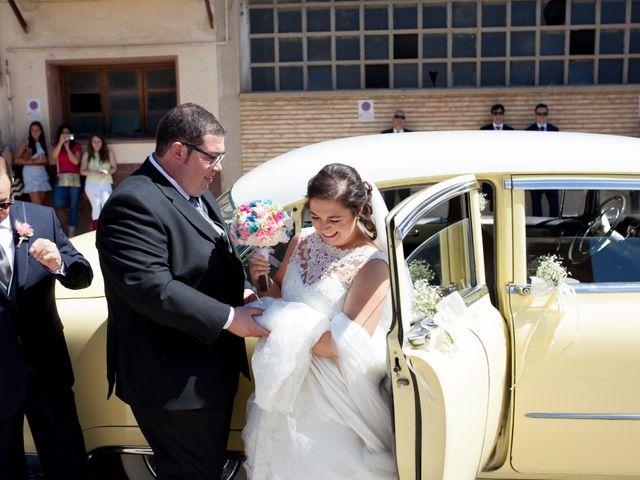 La boda de David y Sonia en Castejon, Navarra 1