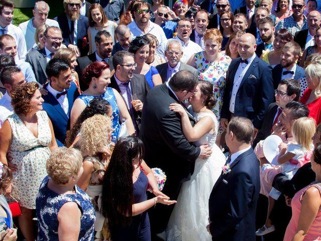 La boda de David y Sonia en Castejon, Navarra 13
