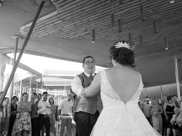La boda de David y Sonia en Castejon, Navarra 18