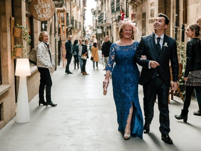 La boda de Alfonso y Almudena en Laguardia, Álava 30