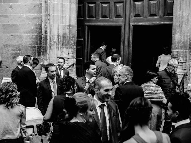 La boda de Alfonso y Almudena en Laguardia, Álava 31