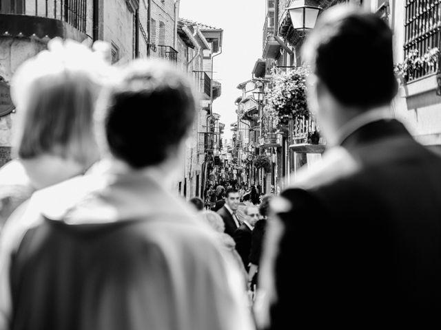 La boda de Alfonso y Almudena en Laguardia, Álava 40