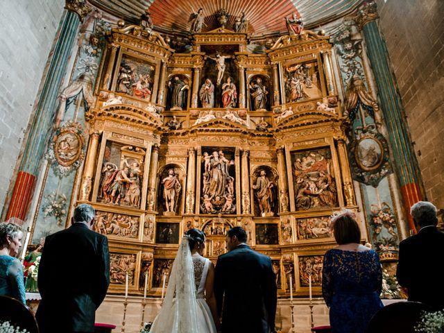 La boda de Alfonso y Almudena en Laguardia, Álava 43