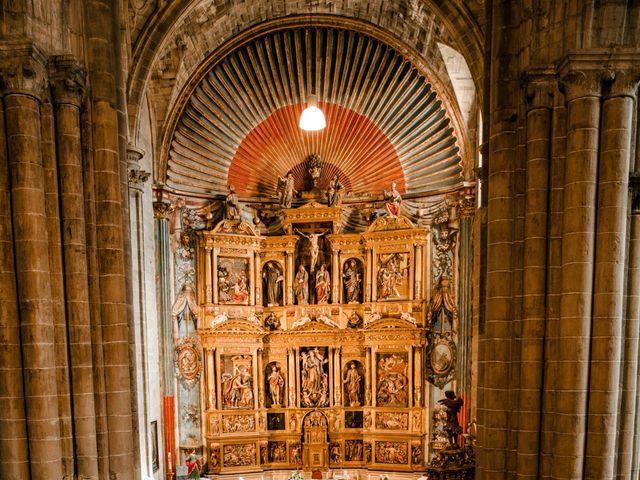 La boda de Alfonso y Almudena en Laguardia, Álava 44