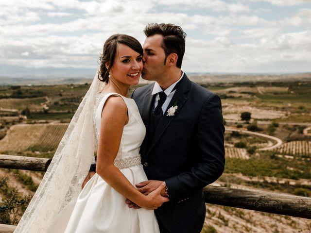 La boda de Alfonso y Almudena en Laguardia, Álava 61