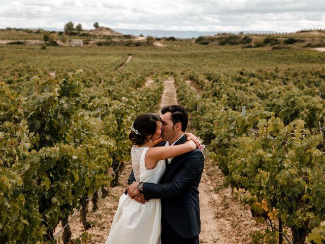 La boda de Alfonso y Almudena en Laguardia, Álava 64