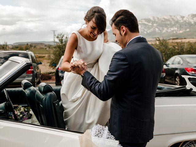 La boda de Alfonso y Almudena en Laguardia, Álava 65