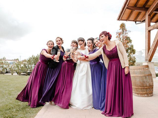 La boda de Alfonso y Almudena en Laguardia, Álava 68